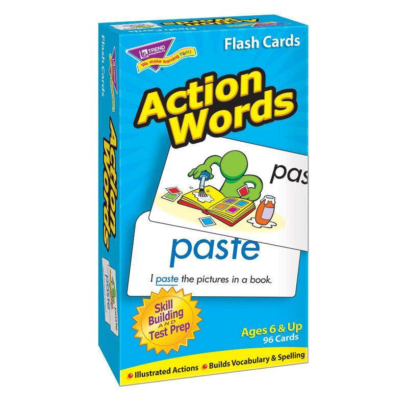 Trend Enterprises Inc. FLASH CARDS ACTION WORDS 96/BOX at Sears.com