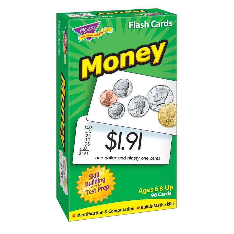 Trend Enterprises Inc. FLASH CARDS MONEY 96/BOX at Sears.com