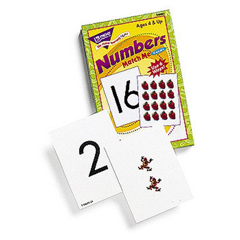 Trend Enterprises Inc. MATCH ME CARDS NUMBERS 0-25 52/BOX at Sears.com