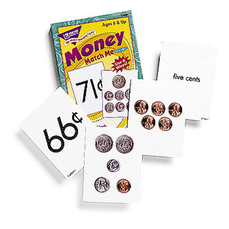 Trend Enterprises Inc. MATCH ME CARDS MONEY 52/BOX TWO at Sears.com